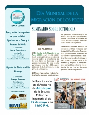 INVITACIÓN A CONFERENCIAS EN LA EMI